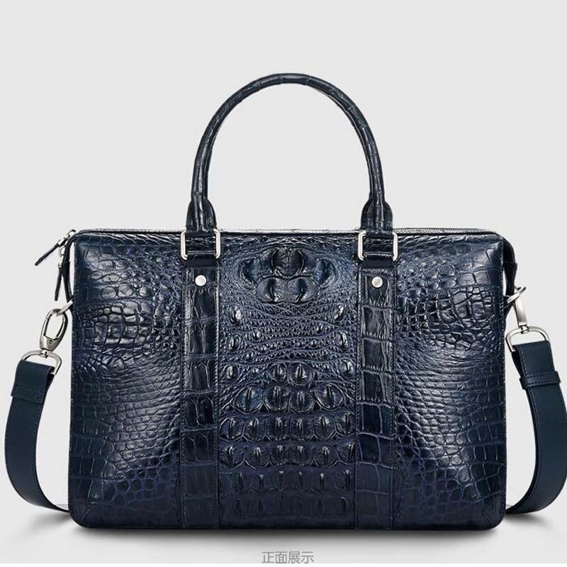 cestbeau real Crocodile men bags Men's handbags Single shoulder bag 2016 blue men briefcase single sided blue ccs foam pad by presta