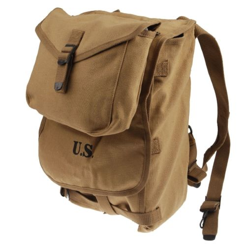 WWII WW2 U S ARMY MILITARY M 1928 HAVERSACK KNAPSACK BACKPACK BAG POUCH