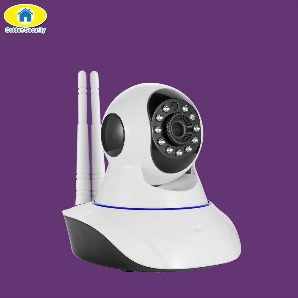 Golden Security 720P HD Wireless IP Camera Night Vision Audio Recording Network CCTV Indoor Camera Baby Monitor Pan Tilt fghgf 720p wireless ip security camera baby pet video monitor home security system with pan and tilt two way audio night vision