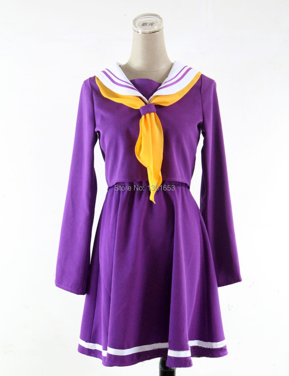 NO GAME NO LIFE Anime cosplay costume dress hallowean cosplay costume for women