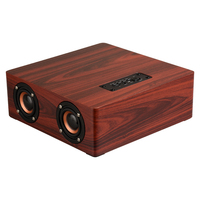 Q5 HiFi Multifunction Bluetooth4 2 Wooden 4 Speaker Subwoofer Support AUX TF Card With Microphone Fully