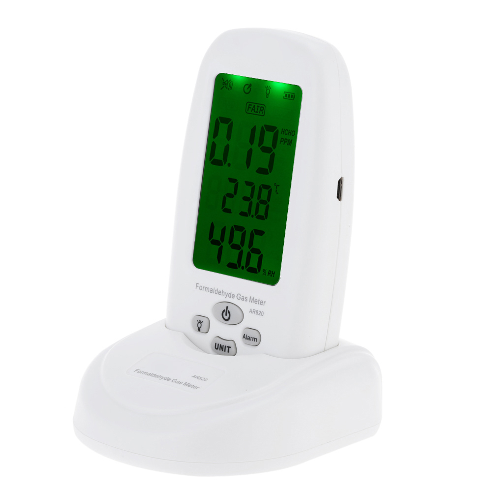 Formaldehyde detector 5 PPM pollution meter test HCHO gas detector indoor Air Quality Monitor measurement Thermometer HygrometerFormaldehyde detector 5 PPM pollution meter test HCHO gas detector indoor Air Quality Monitor measurement Thermometer Hygrometer