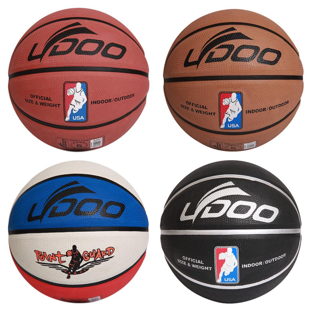 Men Size 7 Outdoor Indoor Rubber Basketball Competition Sports Training Ball