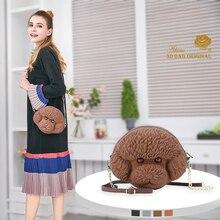 Adamo 3D Bag Original Poodle Sling  High Quality Women Shoulder Luxury Brand Fashion Womens Handbags