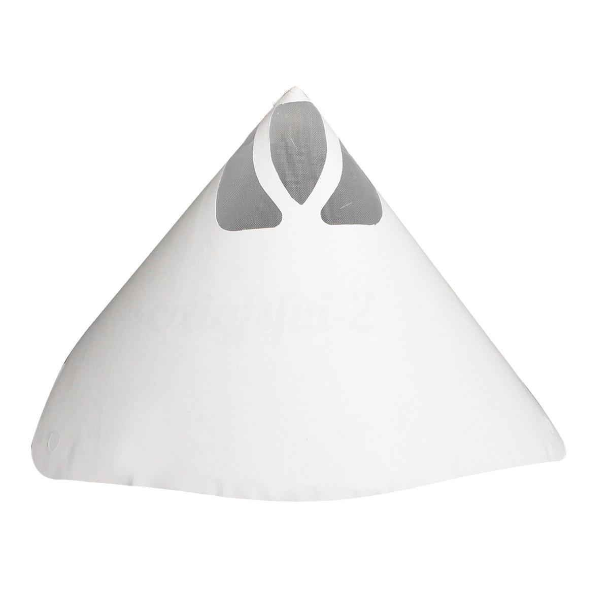 Malha fina do filtro da peneira dos filtros do papel da pintura de 50 pces (150 mícrons) novo