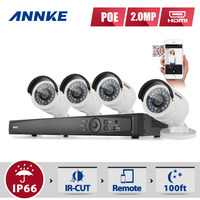 ANNKE 8CH HD 1080P NVR IP Network PoE Outdoor Home Video Security Camera System