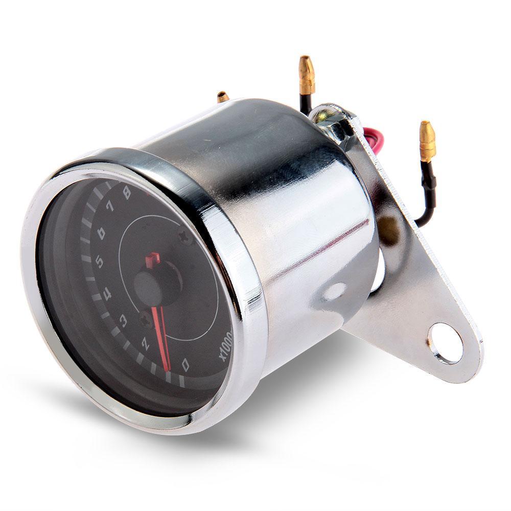 Motorcycle Universal Mechanical 13000RPM Analog Tachometer Gauge