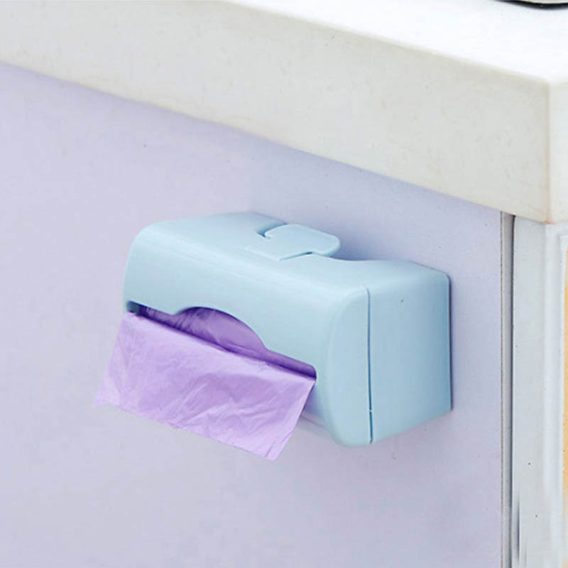 Wall mounted plastic storage box for trash bags bathroom - Plastic bathroom storage containers ...