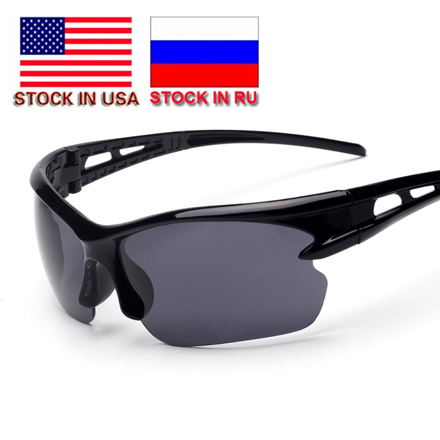 7d1a702aa9 2018 New Men Women Sport Sunglasses Cycling Glasses Bicycle Bike Fishing  Driving Sun Glasses Wholesale Glasses Stock in US