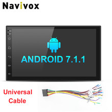 Navivox 7 font b Car b font Stereo Multimedia Player 2 din Android 7 1 1