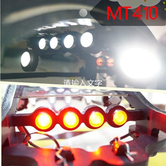 Super lumière LED phare + lumière latérale + feu arrière 10 pièces pour Tekno MT410 QL roll cage-in Pièces et accessoires from Jeux et loisirs    1
