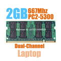 Brand New Sealed SODIMM DDR2 667Mhz 2GB PC2-5300 memory for Laptop RAM,good quality!compatible with all motherboard!