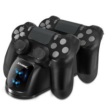 DOBE Game Dual Charging USB Dock Gamepad Joystick for PS4 Wireless Controller