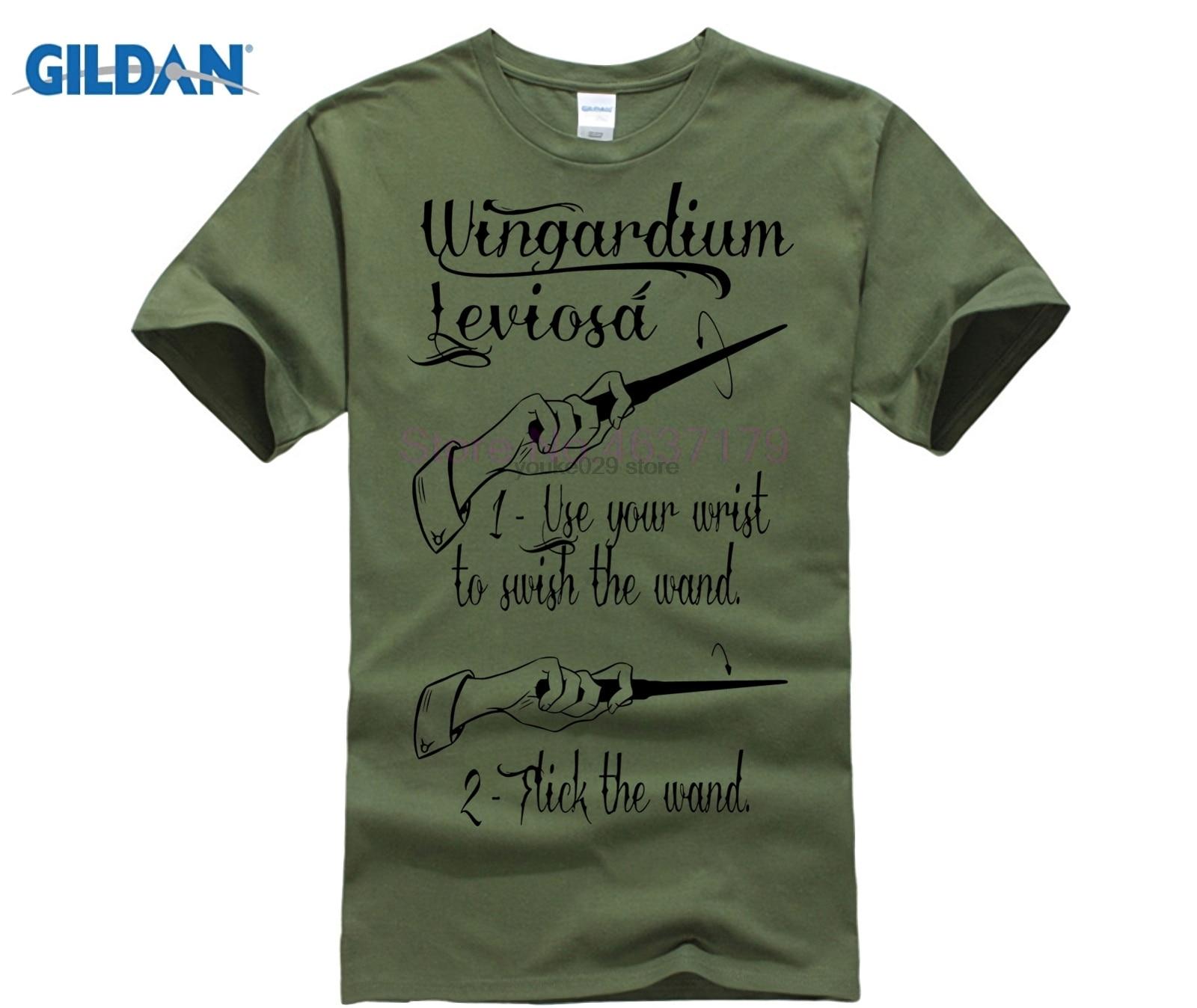 Harry Tee Wingardium Leviosa T-Shirt1 Potter Shirt