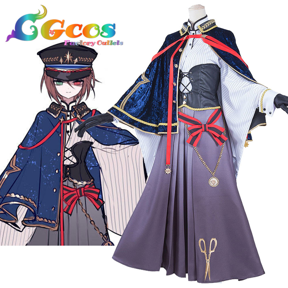 Free Shipping Cosplay Costume Rozen Maiden traumend Souseiseki Lapislazuli Stern Uniform Dress Halloween Christmas Party