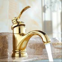 Free shipping New torneira bathroom European classic faucet bronze golden fashion basin faucet water mixer taps high quality tap