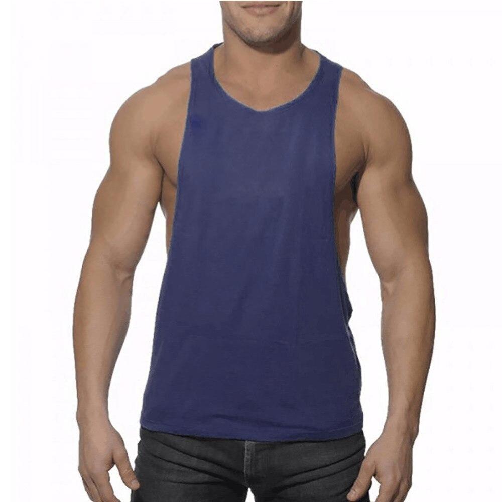 New Men's Vivid Tank Tops Men Low Cut Armholes Vest Sexy Tank Xman Muscle Tops Man's Suit Vest Singlet Tee Shirt Male F1