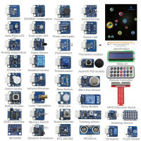 Raspberry Pi 3 Module B Sensor Kit 37 Modules In 1 Professional Kit For Raspberry Pi