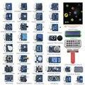 Raspberry pi 4b sensor kit 37 módulos em 1 kit profissional para raspberry pi 4b 3b + 3b 2b e pi b +
