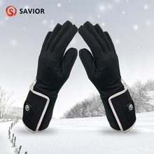 Спасательные дневные зимние электрические нагревательные перчатки