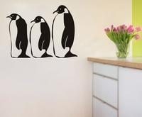 Penguin parete decalcomanie in vinile autoadesivi home decor camera da letto carta da parati decalcomania della parete scuola materna kids room decoration