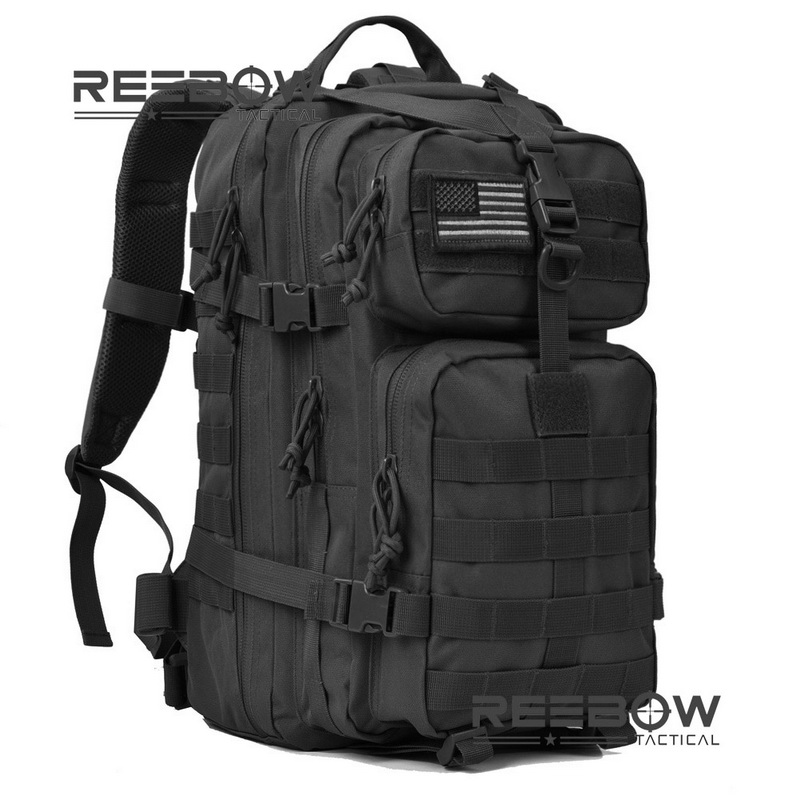 Military Tactical Assault Pack Backpack Army Molle Waterproof Bug Out Bag Backpacks Small Rucksack for Outdoor Hiking Camping