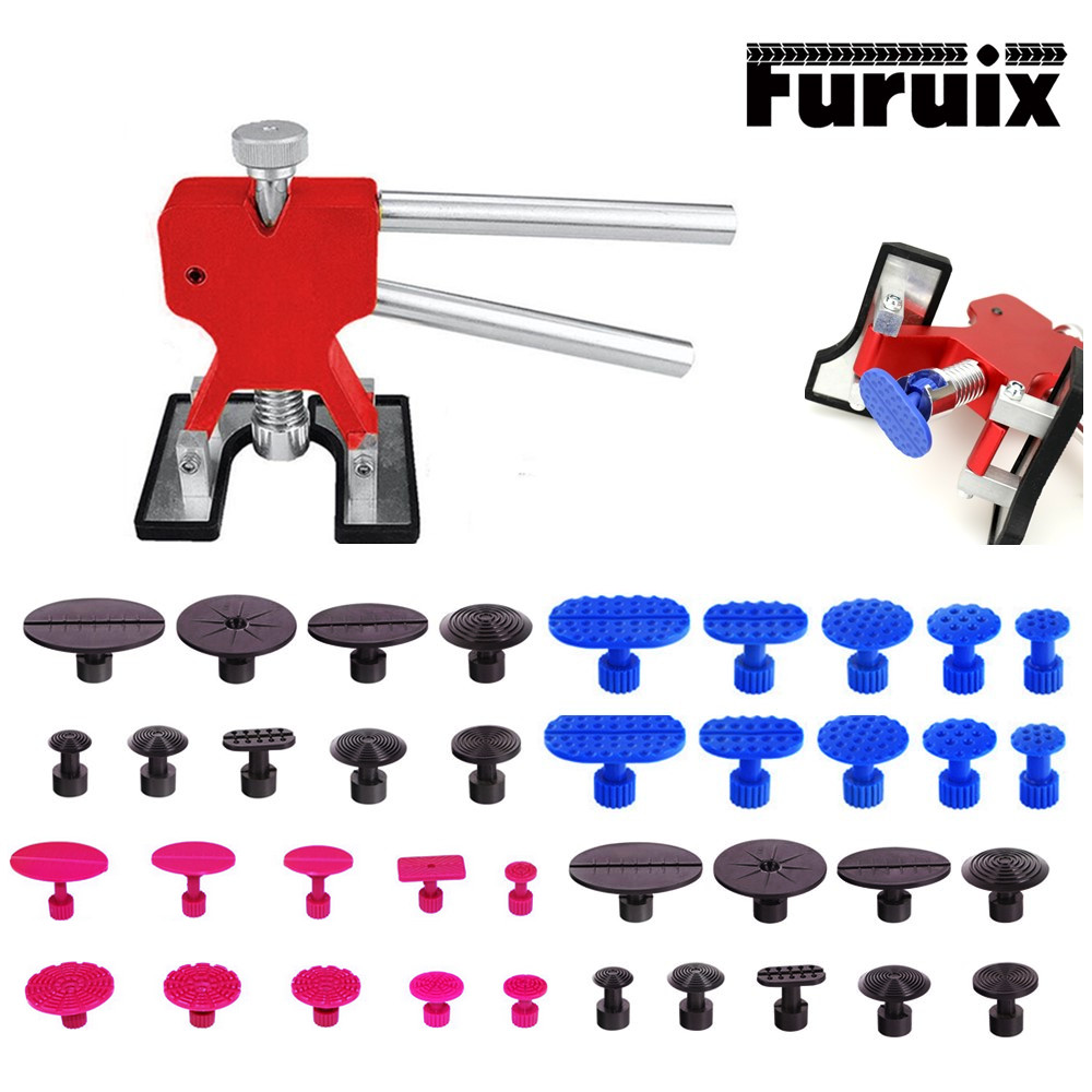 PDR removing dents Paintless Dent Repair Tool Dent Removal Puller Tabs suction cup glue tabs for Hail Damage Hand Tools Set PDR removing dents Paintless Dent Repair Tool Dent Removal Puller Tabs suction cup glue tabs for Hail Damage Hand Tools Set