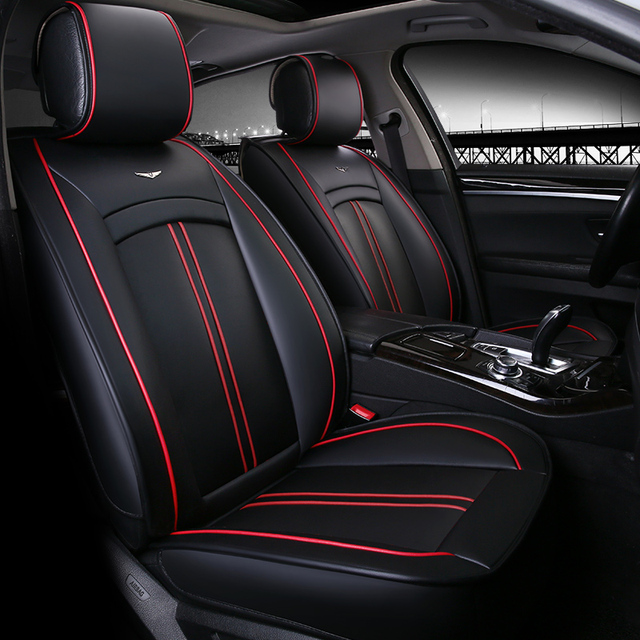 leather car seat cover seats covers for mitsubishi asx colt evolution galant grandis l200 lancer. Black Bedroom Furniture Sets. Home Design Ideas