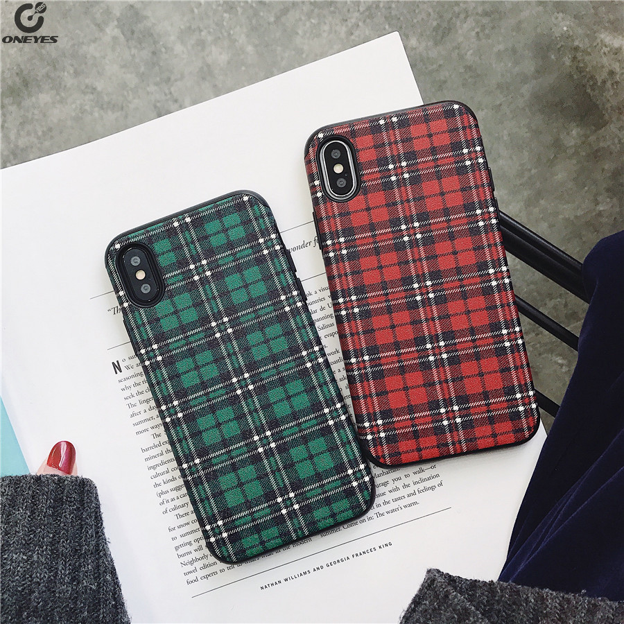 Silicone Phone case For iphone X 8plus 6 6s 7 case Floral Soft Matte case For iphone 8 7 Plus coque lattice Cases For iphone 10