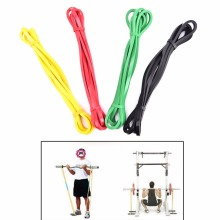 4 Cor de Látex Elástica Loop Banda Do Corpo de Fitness Crossfit Resistance Band Workout Treinamento Body Building Ferramenta