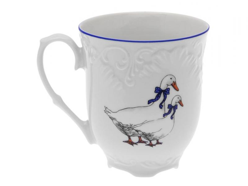 Mug PORCELAINE Czech Gold Hands, Geese, 300 ml кувшин porcelaine czech gold hands mix