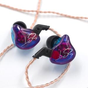 Image 4 - KZ ZSTs ZSTX 1BA + 1DD In Ohr Kopfhörer Hybrid Headset HIFI Musik Sport Ohrhörer Noise Cancelling Ohrhörer Ersetzt kabel ES4 ZSN ES3