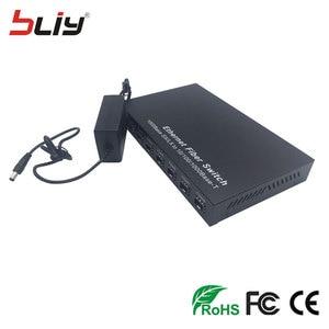 Image 3 - SFP 8G2E 1000M gigabit 8 sfp fiber 2 RJ45 UTP fiber interruptor fiber optic media converter ethernet fiber switcher for GBIC SFP