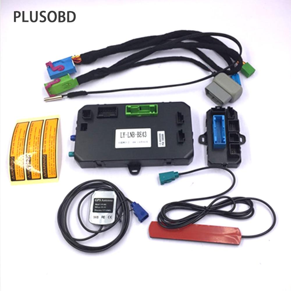PLUSOBD GSM Sistema di Allarme Auto Avviamento A Distanza Del Motore GPS Inseguitore Auto Localizzatore W/O Chiave All'interno di Auto Per Benz ML W164 GL X164 R W251