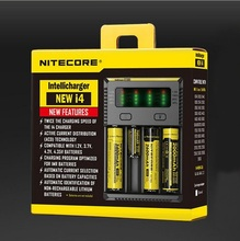 FYF97 Original Nitecore new I4 18650 Battery Charger Digicharger for AA AAA 26650 14500 Li-ion Lithium Batteries Charging