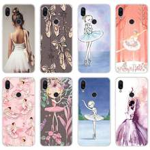 Ballerina dancing girl Silicone soft Cases Cover for Xiaomi Redmi Note 7 4X 5 6 5A 6A 6 Pro S2 Mi A1 A2 8 Lite Phone case(China)