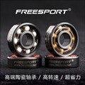 FreeSport 608 Гибридные Керамические Подшипники ABEC9 Inline Роликовых Коньках Rodamientos Бесплатно Line Skate/Скейтборд LongBoard/HandSpinner