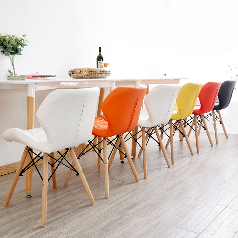 Image 3 - Nordic INS Restaurant Furniture Chair Dining Room Modern Iron Office Chair Wood Kitchen Dining Chairs for Dining Rooms SofaDining Chairs   - AliExpress