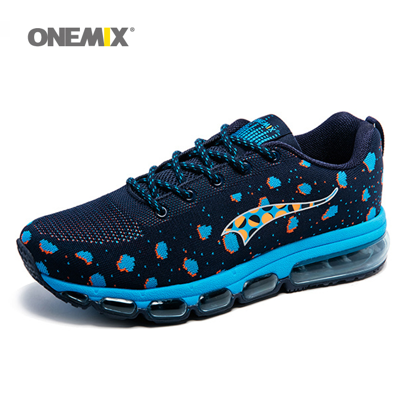 ONEMIX Men Sport Sneakers Knitting Adult Shoes Breathable Outdoor Running Shoes Male Athletic Trainers zapatos de hombre 2016 new summer professional men s running shoes breathable mesh outdoor sports sneakers men trainers zapatos hombre 39 44
