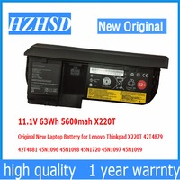11 1V 63Wh 5600mah X220T Original New Laptop Battery For Lenovo Thinkpad 42T4879 42T4881 45N1096 45N1098