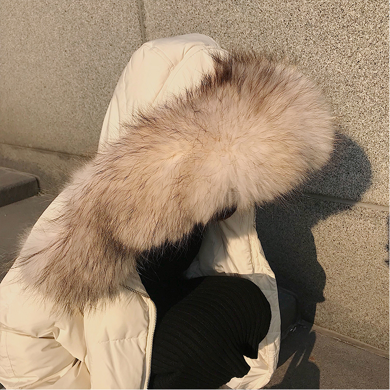 Chaud Survêtement 10 D'hiver À Nouvelle Femelle Parkas Longue Doudoune Capuchon Épaississement Beige 18 Lâche Coton Femmes Rembourré Veste 2018 Manteaux x8w0TT