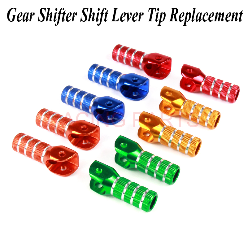NEW Billet Gear Shifter Shift Lever Tip Replacement For SX SXF EXC EXCF XCW XCF SMR CRF YZF WRF KXF KLX RMZ MX