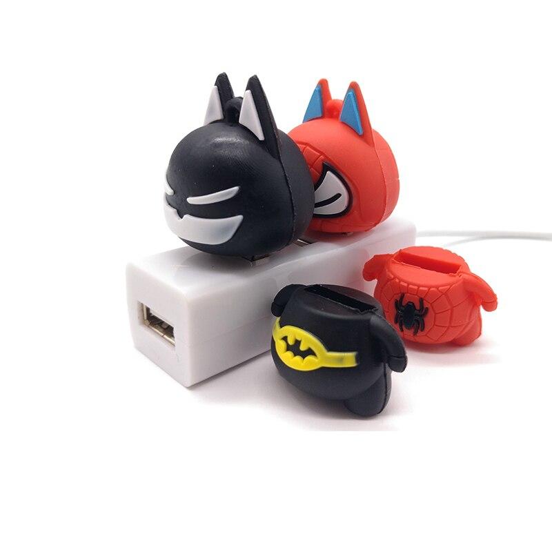 Pendrive USB2 0 flash drive 4GB 8GB 16GB 32GB 64GB cartoon batman spiderman memory stick creative gift pen drive flash drive in USB Flash Drives from Computer Office