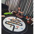 150cm City Highway Blanket Inflant Game Round Tent Play Mats Carpet Child Toys Climb Mat Indoor Summer Gift For Kids Decoration