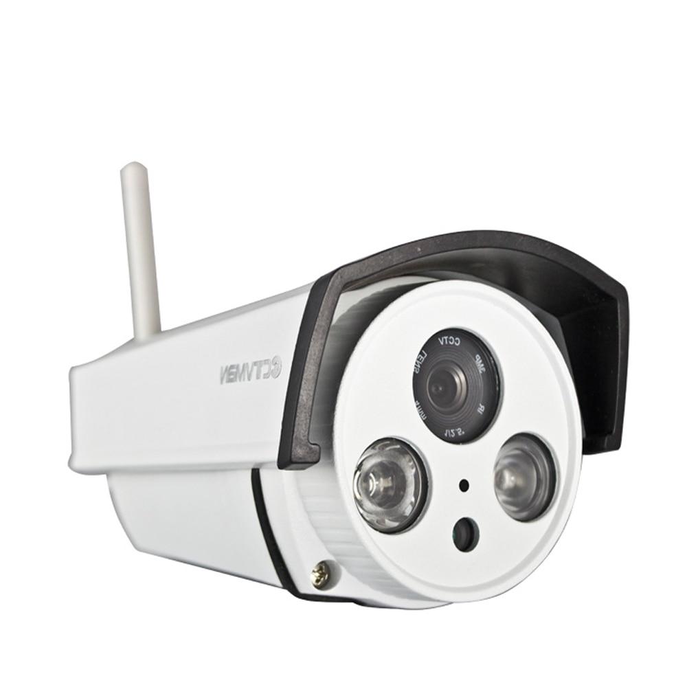 CTVMAN Outdoor CCTV Wifi Camera Wi-fi SD Card Slot 720P Weatherproof Onvif P2P Wireless Security Surveillance Exterieur IP Cam ctvman security ip camera wifi 720p camaras de seguridad mini wireless kamera onvif two way audio sd card slot cctv p2p webcam