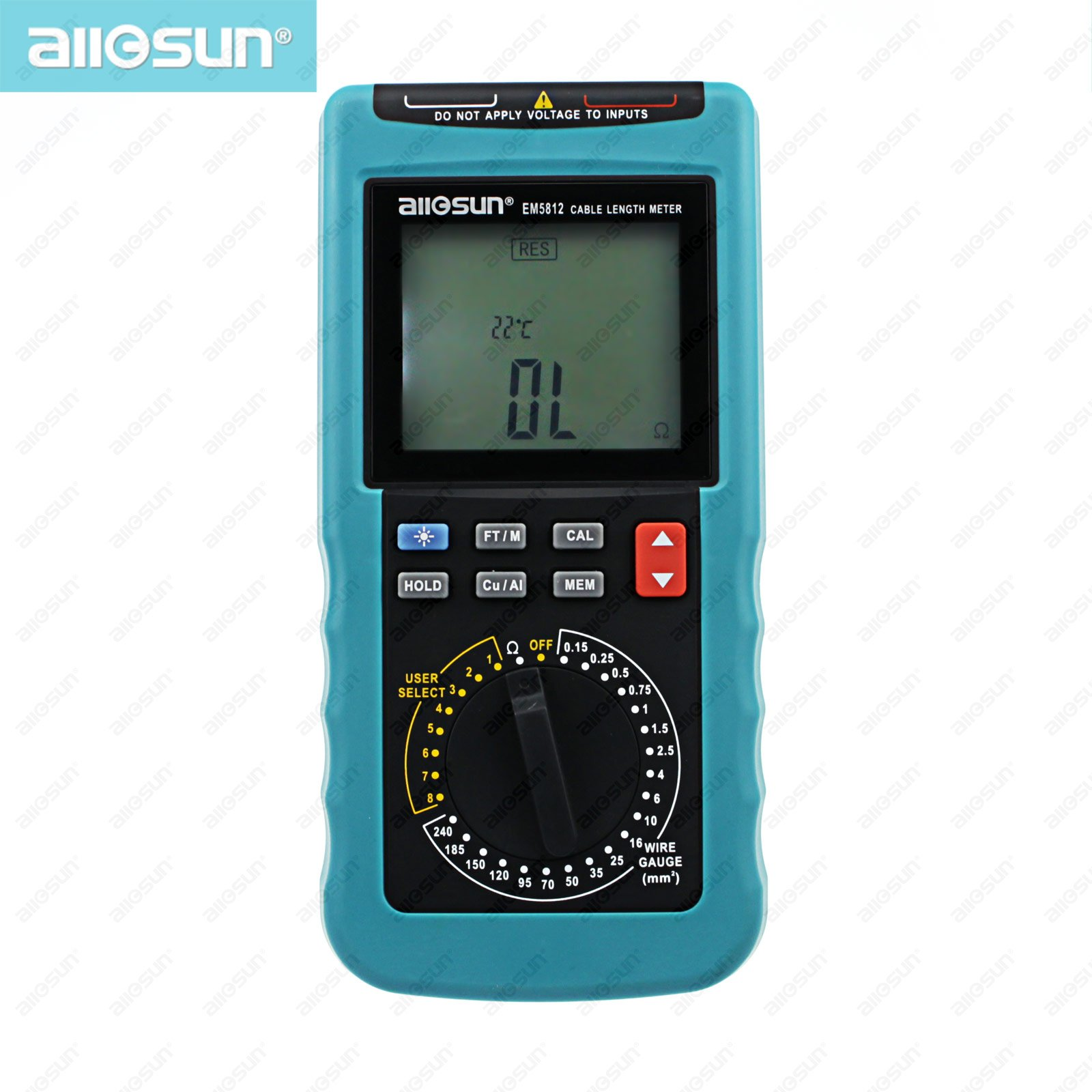 Modern digital cable length meter PC Data Network LCD Digital display automatic temperature compensation all-sun EM5812 eap 100xt direct factory digital passive infrared detector automatic temperature compensation detecting distance selectable