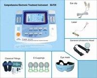 2018 горячие десятки машин для физиотерапии с лазерной, ультразвук, инфракрасное Отопление функции реабилитации оборудования