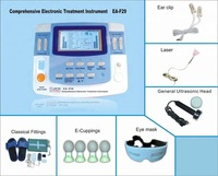 2018 hot tens machines for physiotherapy with laser, ultrasound, infrared heating therapy functions rehabilitation equipment