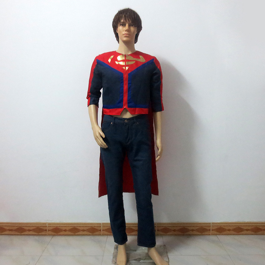 Young Justice Teen Titans Superboy Superhero Christmas Party Halloween Uniform Outfit Cosplay Costume Customize Any Size