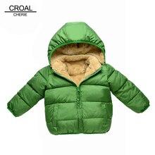 Зимнее парни clothing толстый бархат зимние младенческой куртки теплый хлопка куртка